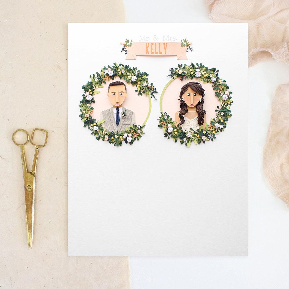 Custom Wedding Artwork - write something here