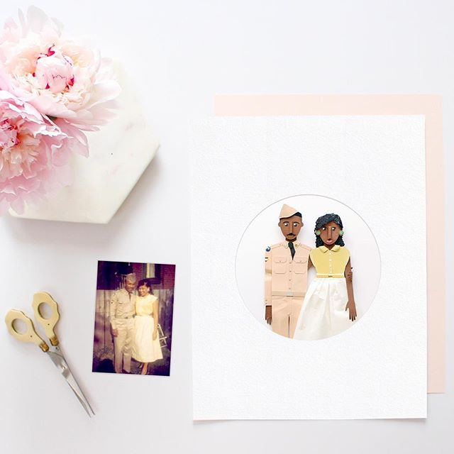 Turning cherished photos into works of art.