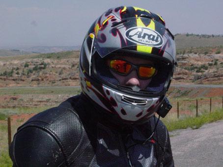 Me with my Favorite helmet...