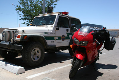 Mexican Border Patrol and the VFR