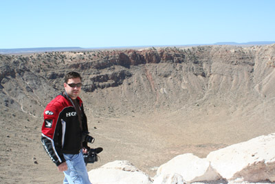 Billma at the Crater