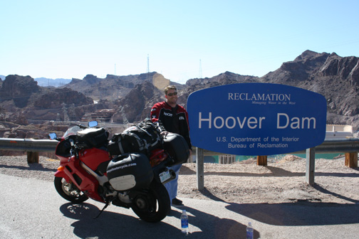 Hoover Dam, like the sign says.