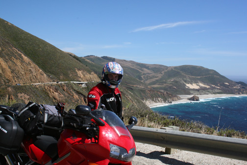 VFR and Billma at Big Sur