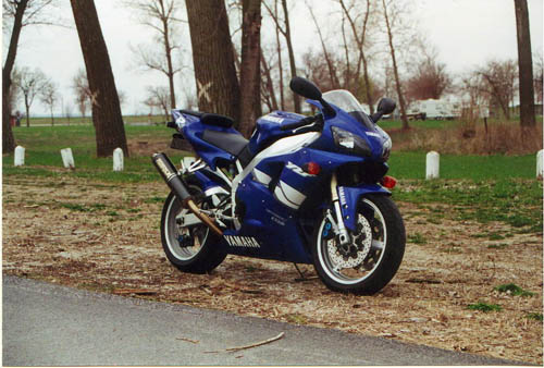 Ghost of motorcycles past, the beloved R1