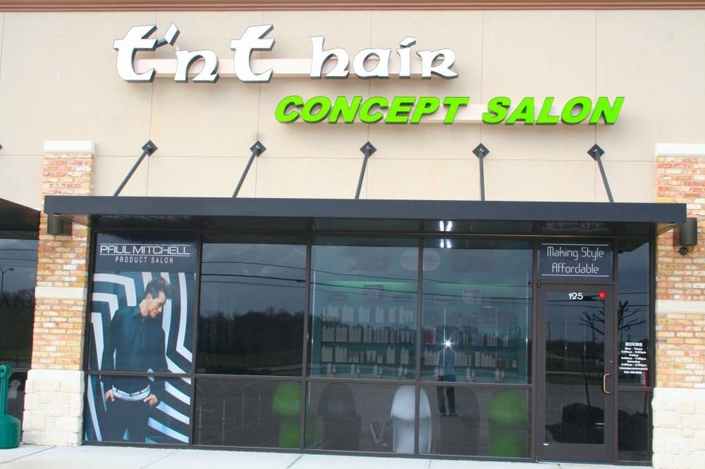 T'nT Hair Concept Salon - 7219 Fairmont Parkway, Suite 125