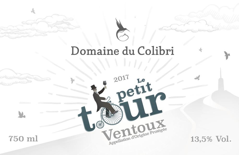 ETIQUETTE - DOMAINE DU COLIBRI - Petit Tour 2017 - rosé png.png