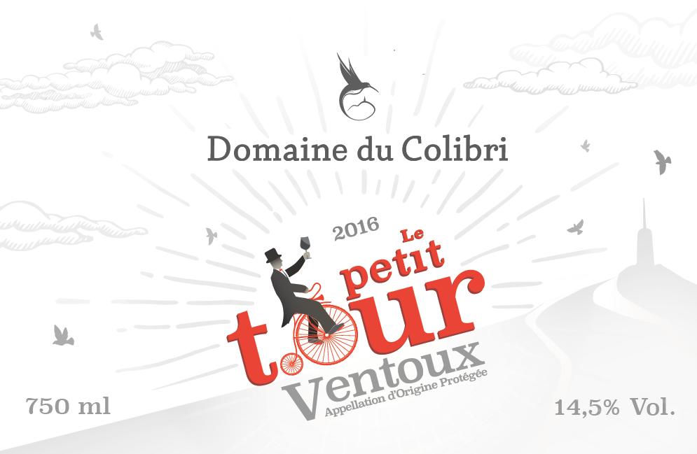 ETIQUETTE - DOMAINE DU COLIBRI - Petit Tour 2016 - rouge png.png