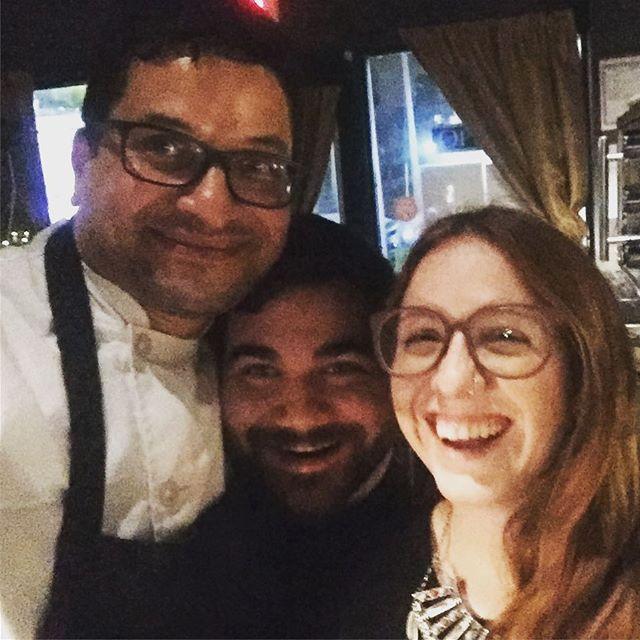 Working with great professionals and friends : thanks Arcadio and Tamara, you make our job easier. #tastingmenu #yorkville #lovethiscitytv #blogTO #enroutemag #becauseCanada #saveurtraditions #toptorontorestaurants #FNCEats! #FeastOn #ypdine #canadas100bestj #gastropost #terroir#torontochef #torontolife #torontofoodies #yyzeats