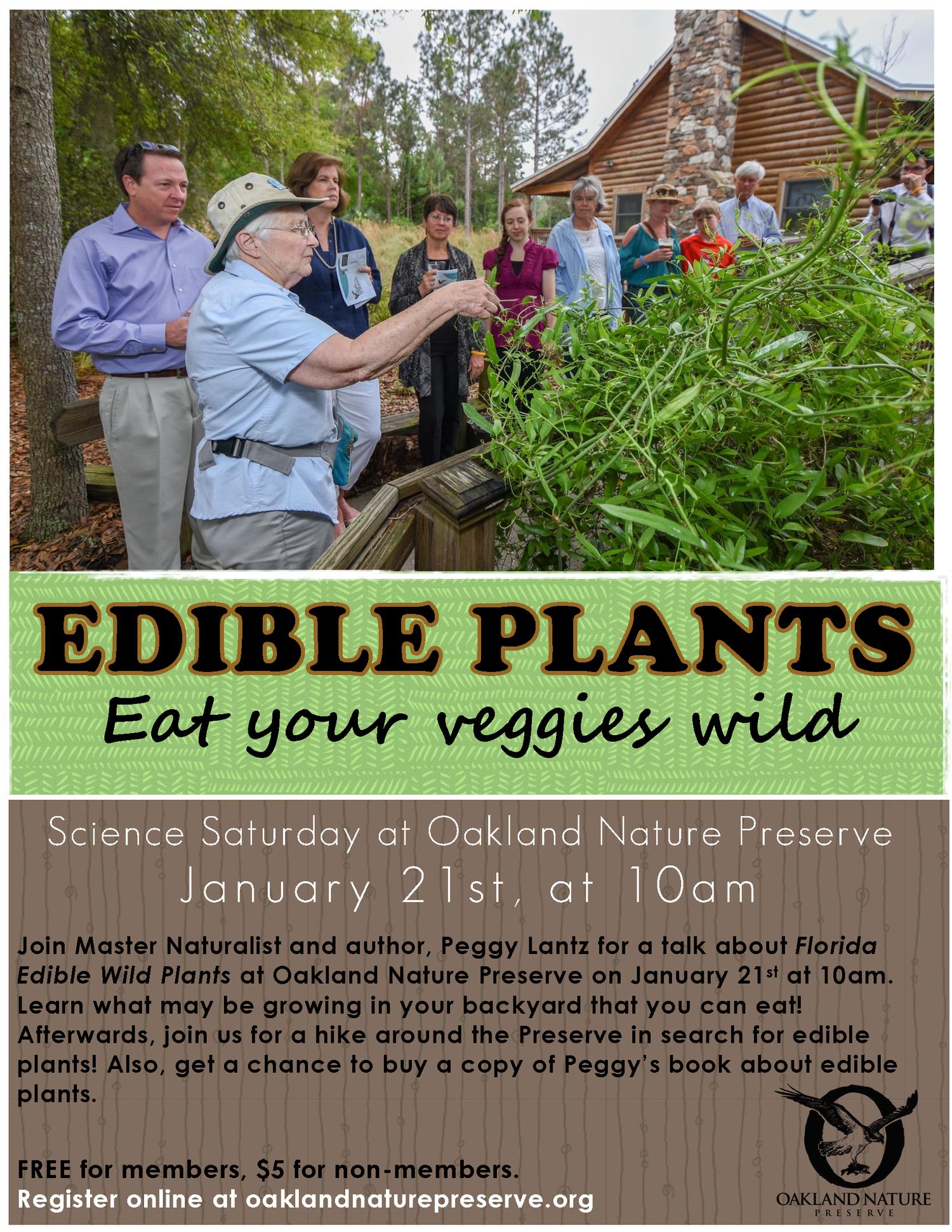 edible plants with peggy lantz u2014 oakland nature preserve