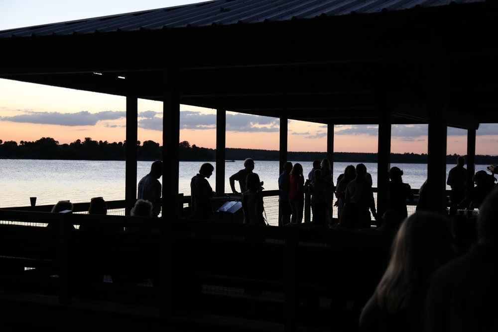 Sunset toast at Lake Apopka, followed by a magnificent Firefly experience on the way back!