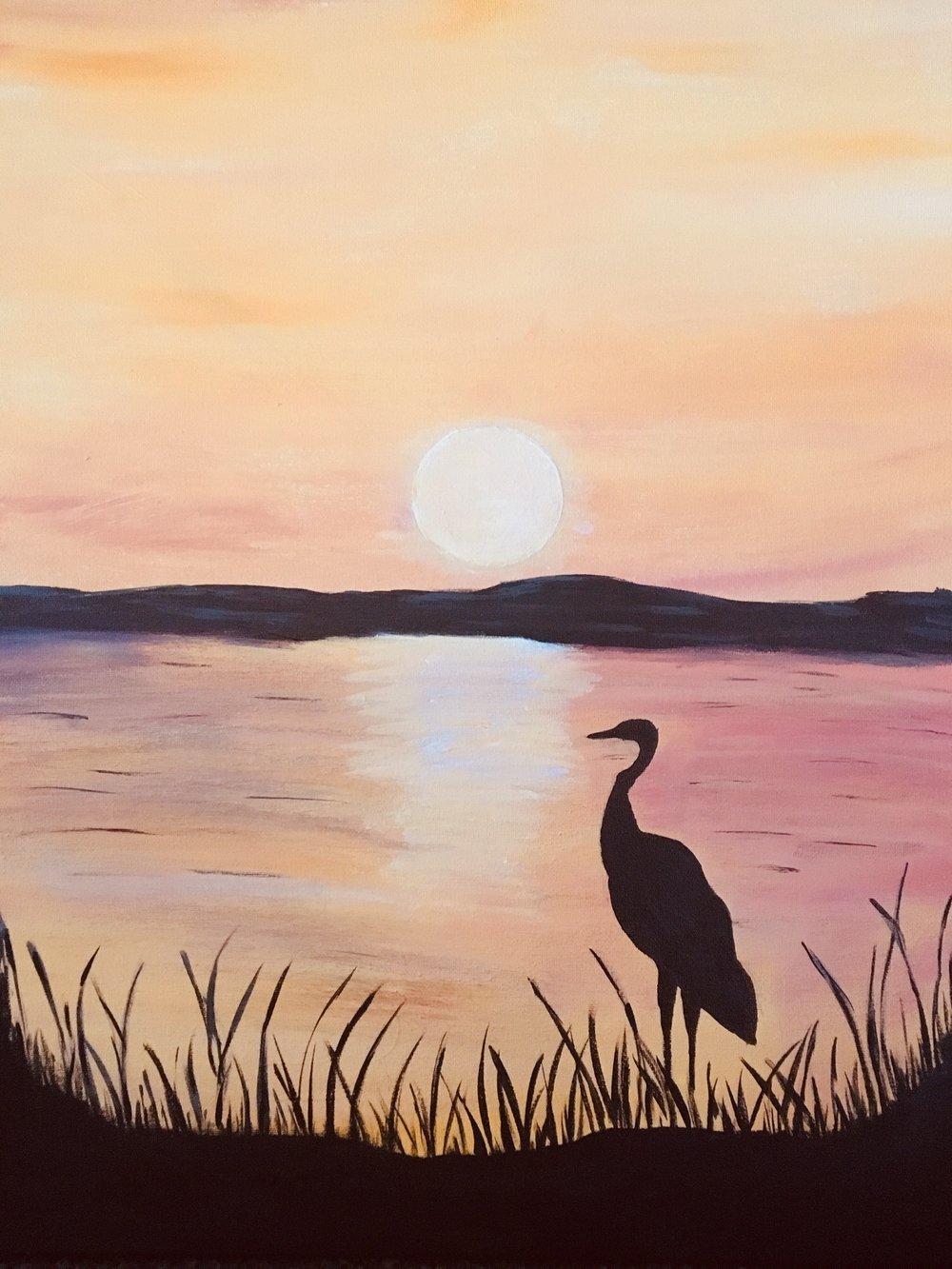 Sunset OverLake Apopka -