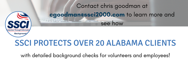 Alabama Background Checks for Volunteers
