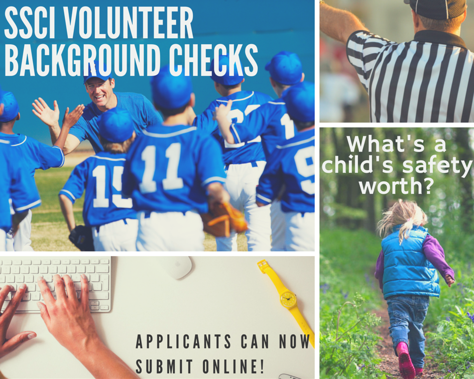 Background checks for youth sports