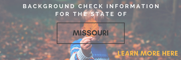 Missouri State Background Check Information