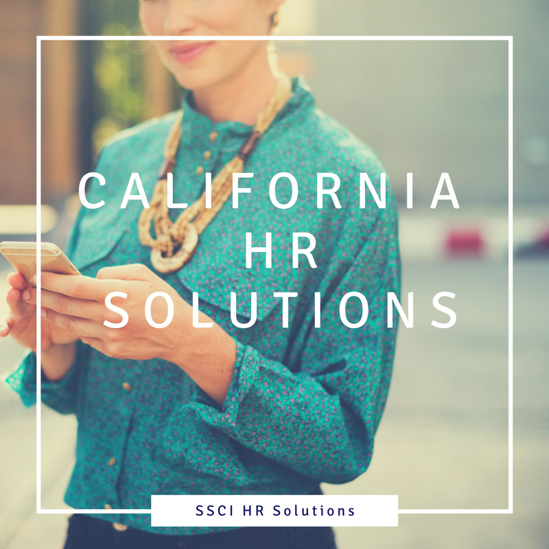 California HR Solutions - SSCI