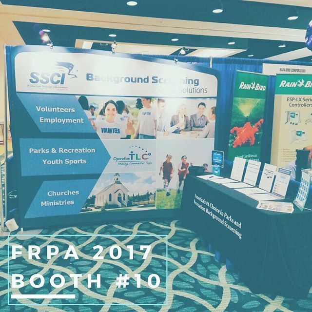 We're having a great time at #frpa75! We look forward to this conference every year where we get to visit with our wonderful friends in the #FloridaRecreation community! Visit us at Booth #10! #floridarecreationandparkassociation #itstartsinparks