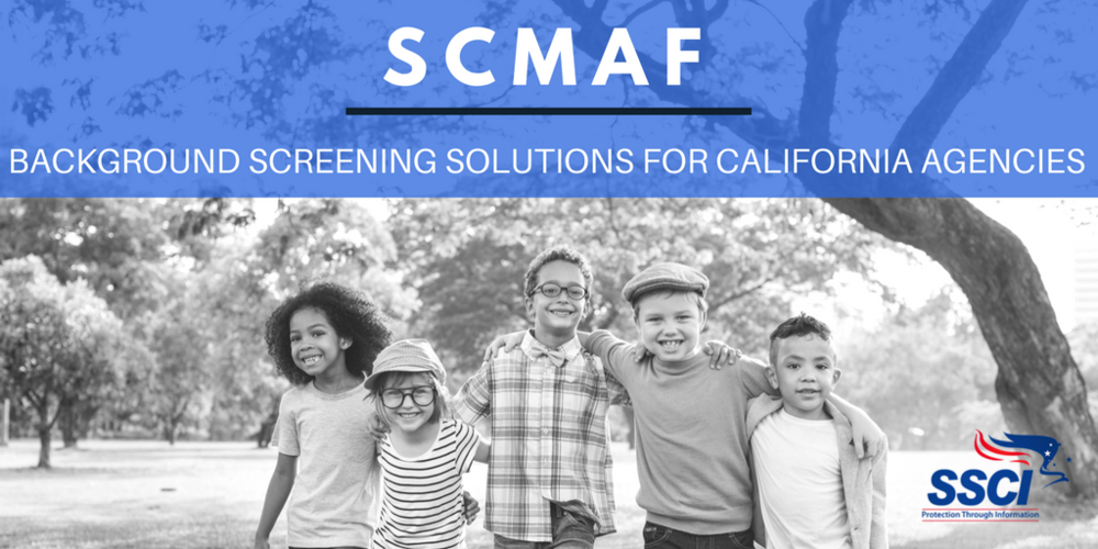 SCMAF CALIFORNIA LIVESCAN CHECKS