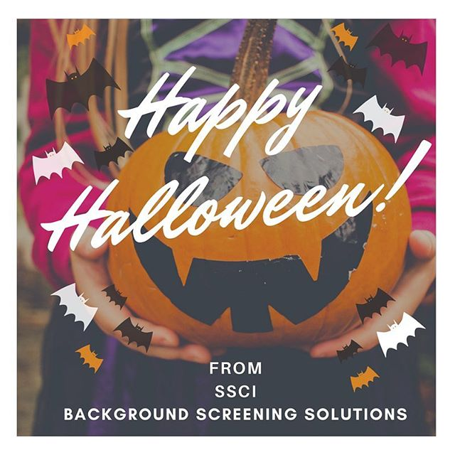 Wishing you and your family a fun and safe Halloween from the SSCI Team! 🎃🕸🍂🎃 #happyhalloween