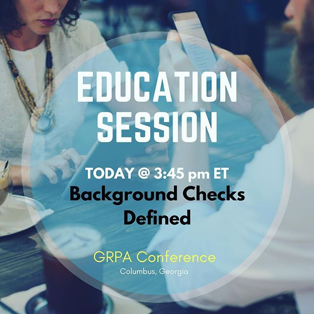 Don't miss our Education Session today @ 3:45pm at #GRPA17 #parksandrecreation #youthsports #georgia #georgiaparks #atlparksandrec