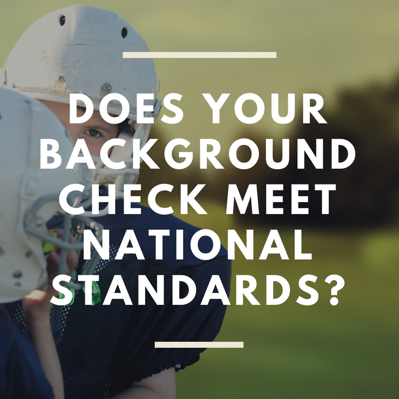 National Standards Background Checks
