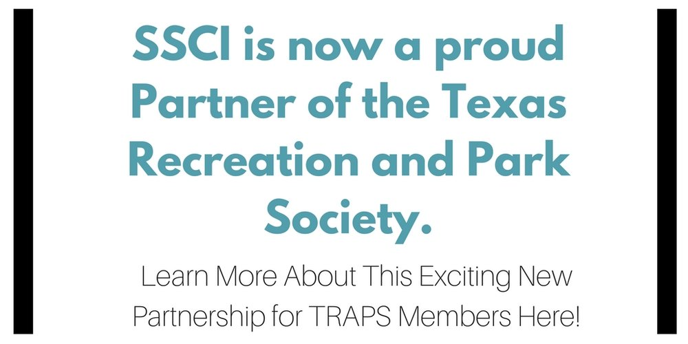 SSCI is a Proud Partner of the Texas Recreation and Park Society