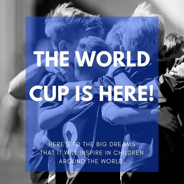 Who else is looking forward to the World Cup? #worldcup #youthsports
