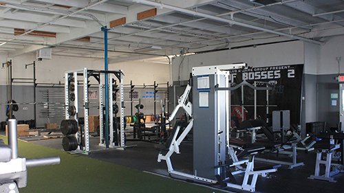 Boss barbell club