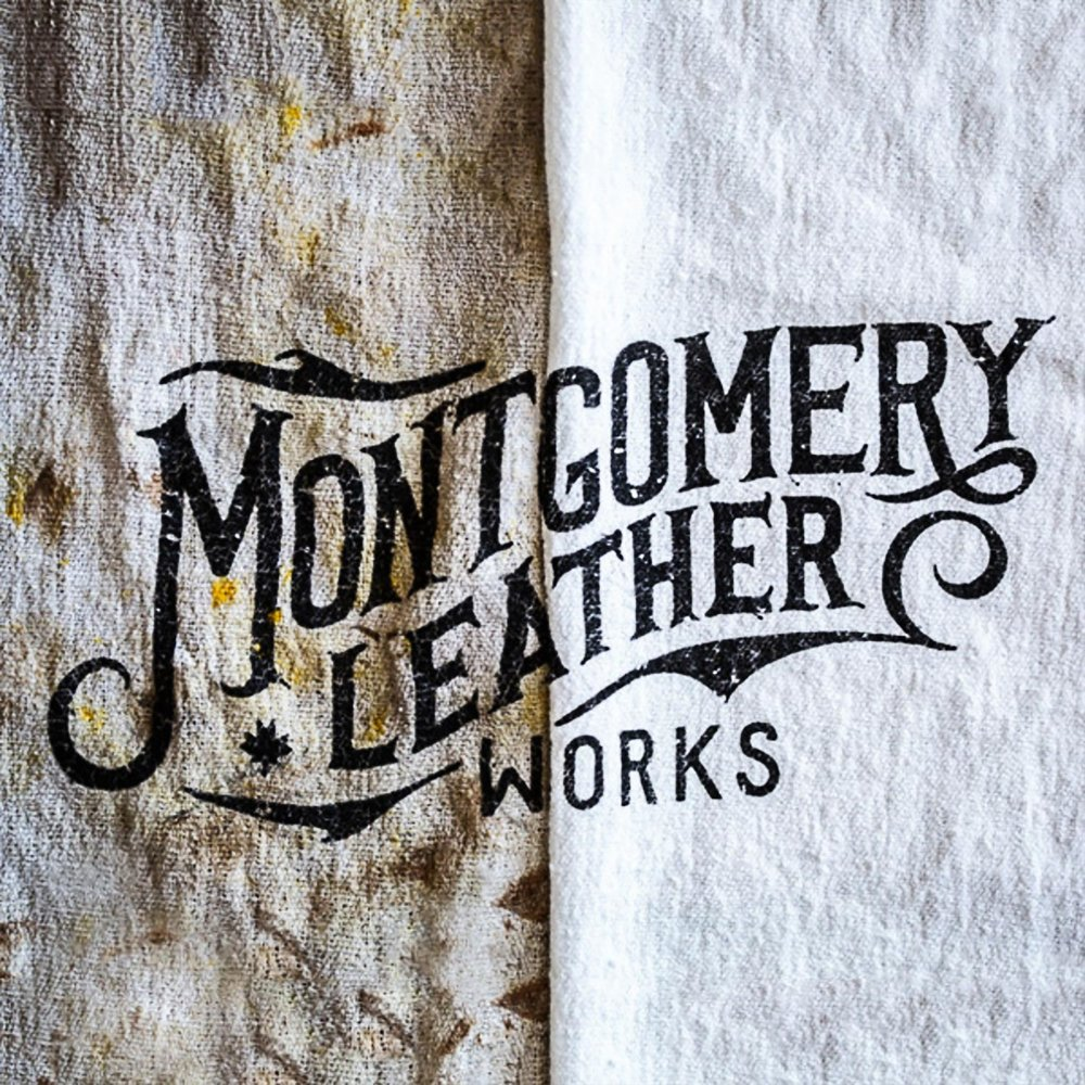 Montgomery leather works  - Leather company established by renowned photographer Peter Mckinnon.Pete originally got in contact for a logo as part of a small branding project. Something that would work well digitally, but could also be heat pressed into leather goods and chiseled into wood.The project soon escalated to include illustrations based on some of his favourite photographs to be used on t-shirts, tote bags and stamped into leather coasters.