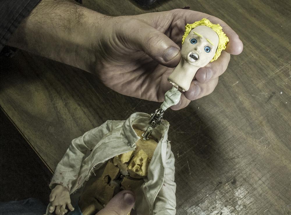 Placing Laura's Head on Armature.jpg