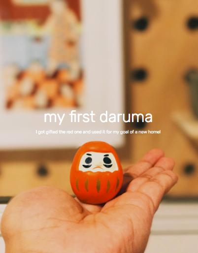 Goal Setting with Daruma Dolls — Everyday Women