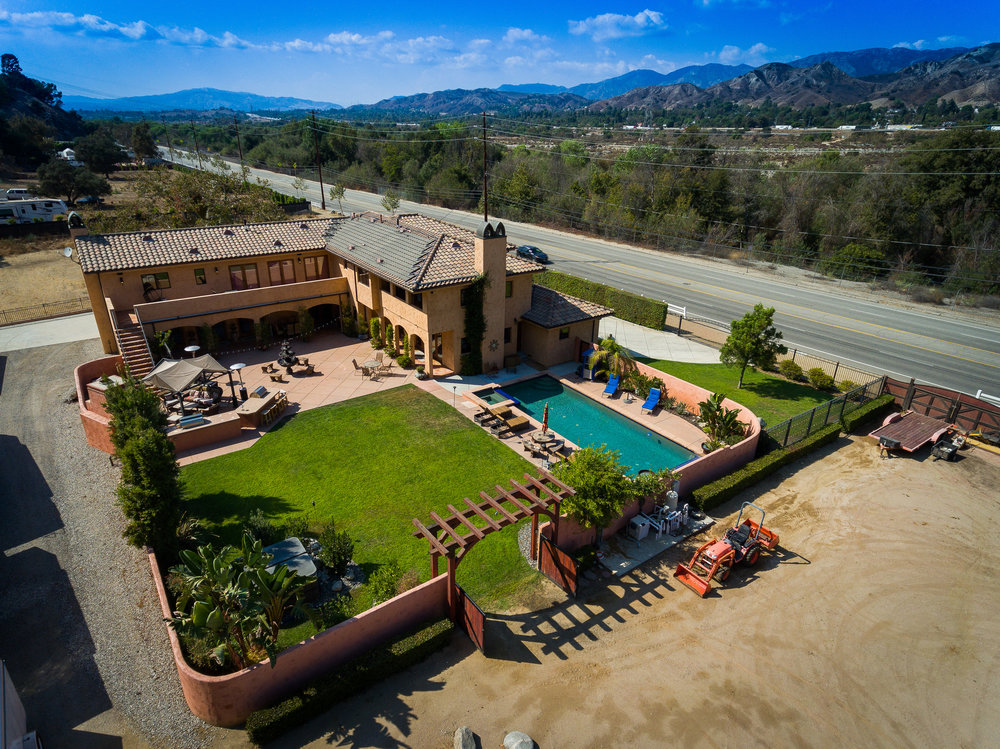 southern california aerial photography