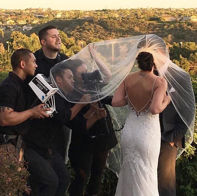 Wedding cinematographer