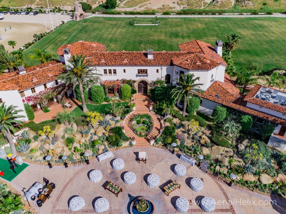 aerial wedding videographer