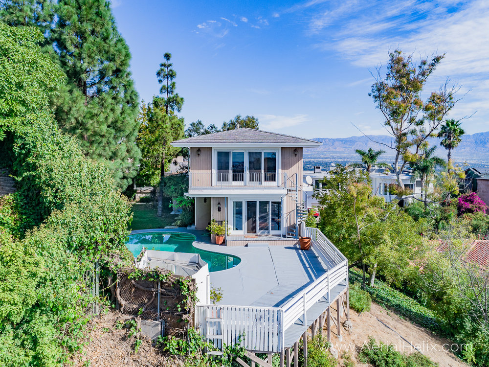 Mullholland Drive Aerial - HELIX Real Estate Aerial Photographer-5.jpg