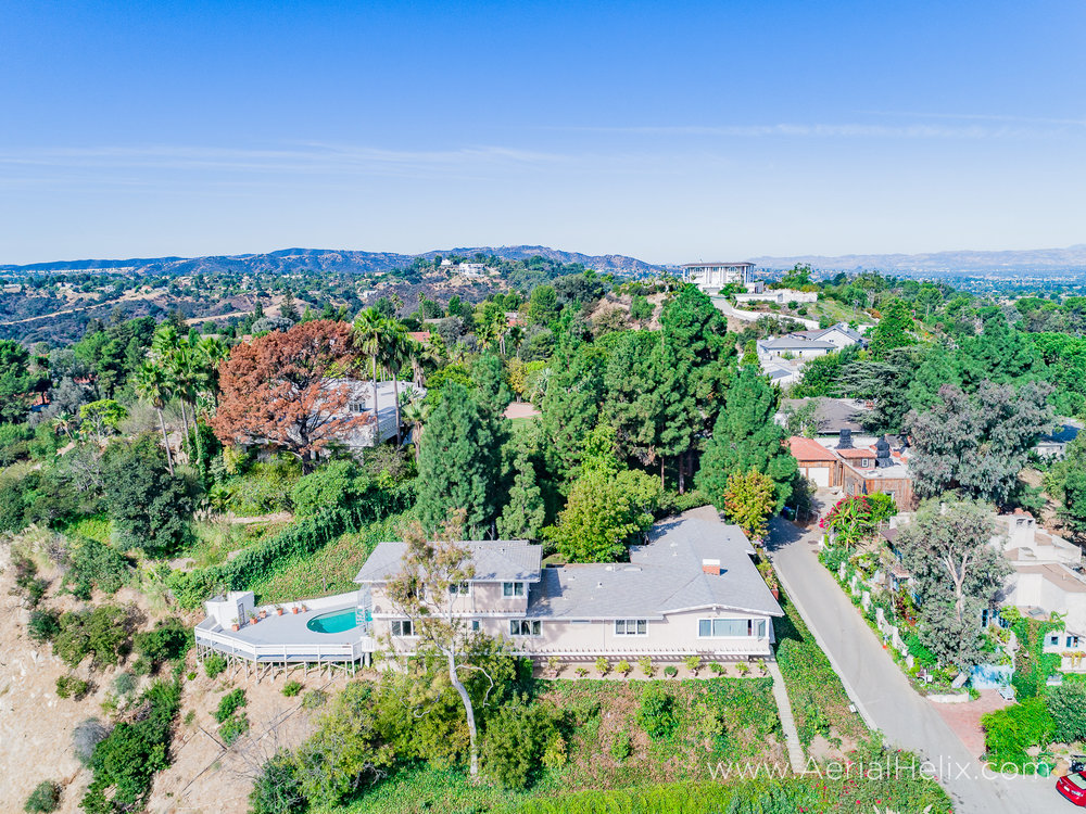 Mullholland Drive Aerial - HELIX Real Estate Aerial Photographer-8.jpg