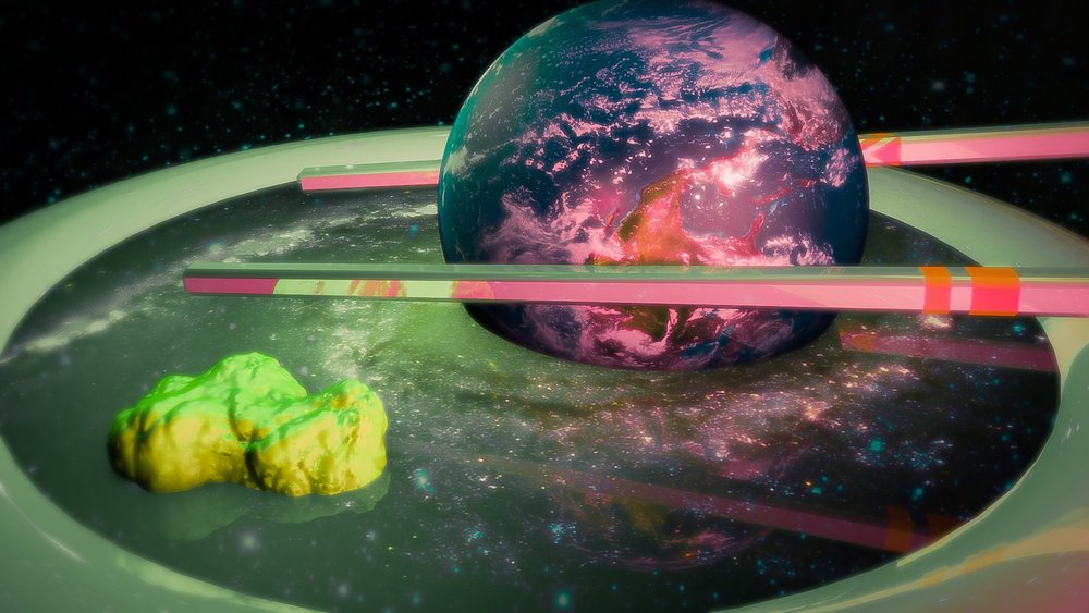"April 6, 2016 - ""Cosmic Soy Sauce""  - Cinema4D, Photoshop, Lightroom"