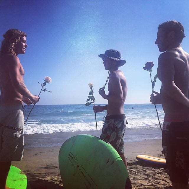 Pre paddle out #therake #MLO #surflife #malibustrong @stonyy @surfandsnowcoach