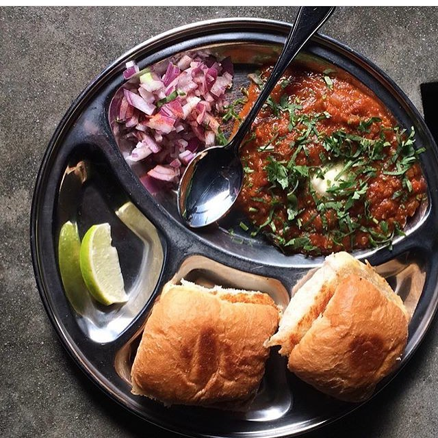 #flashbackfriday to that time we had pav bhaji on Friday, just like we do again tonight!