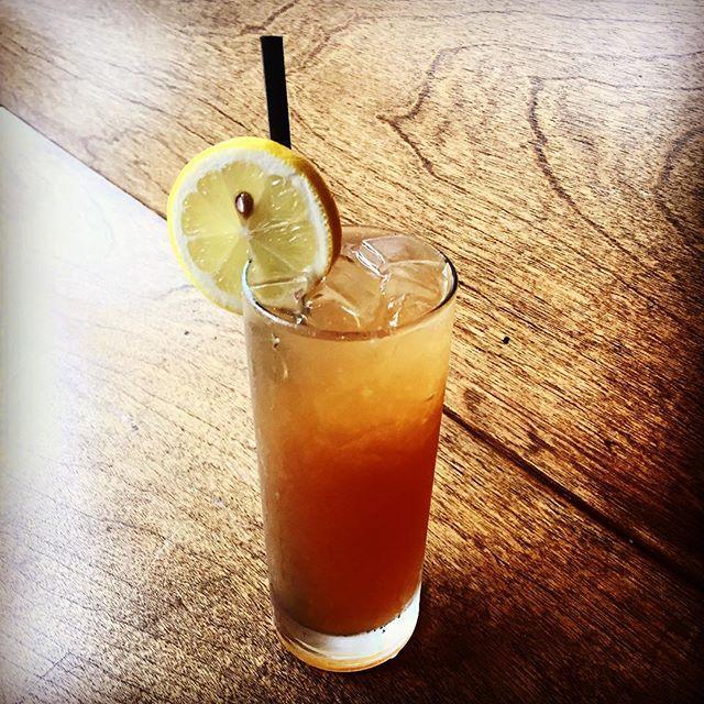 Ice Teased: chrysanthemum gin, black tea syrup, and lemon.