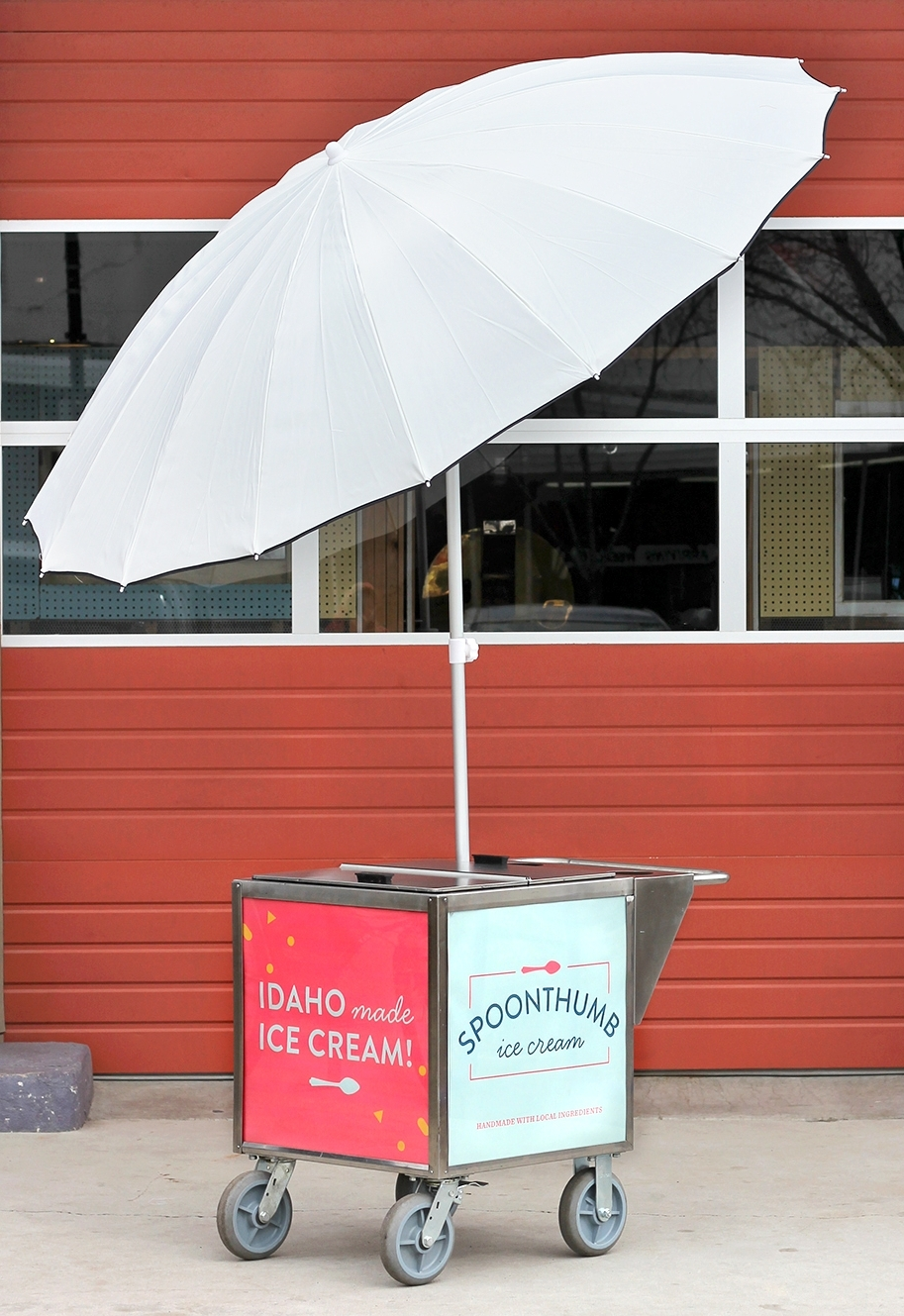 Spoonthumb Ice Cream Cart
