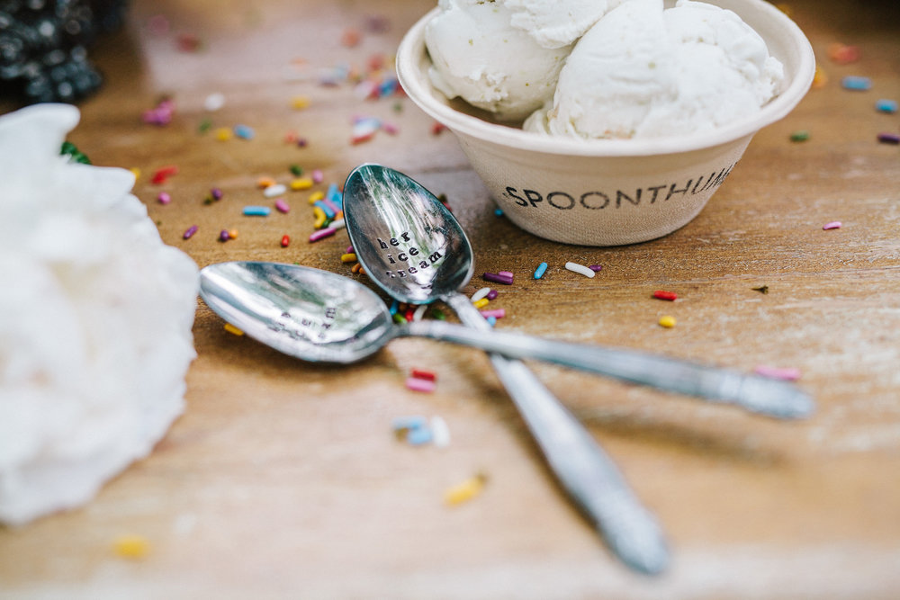 Spoonthumb Ice Cream Wedding