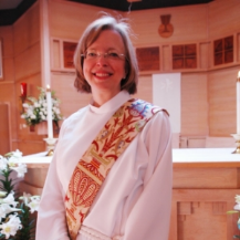 The Reverend Paige McKay ,  Deacon