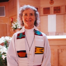 The Reverend Jean Pearson Scott,   Priest in Residence