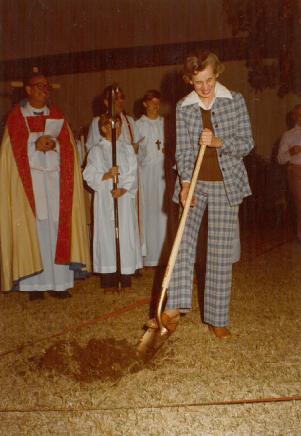 Hope Austin - Groundbreaking - October 19, 1977