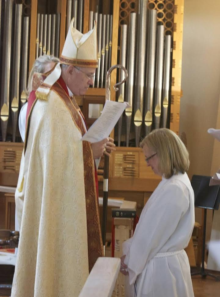 The Rev. Paige McKay's Ordination as Deacon - December 2012