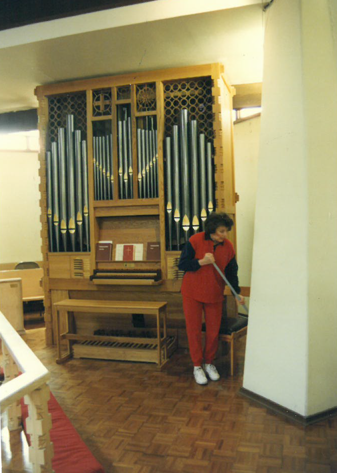 1996 - After The Installation Of The New Organ