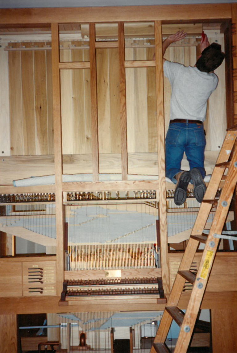 New Pipe Organ Delivered and Installed In 1994