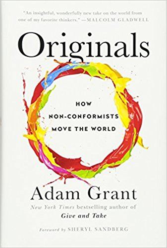 Originals  A thought-provoking look at what it means to be creative.  Buy it here »