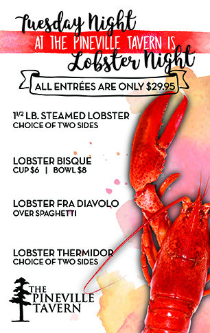 Guess what's back?! Starting May 23rd, lobster night is back! :) - Starting May 23rd, lobster night is back! :)
