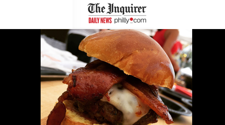 The Inquirer philly.com - Pork Wins the day at Burger BrawlMichael KleinJune 29, 2016